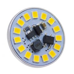 GloboStar® 76108 Λάμπα G4 LED SMD 2835 3W 330lm 120° DC 12-24V Back Pin Φυσικό Λευκό 4500K Dimmable