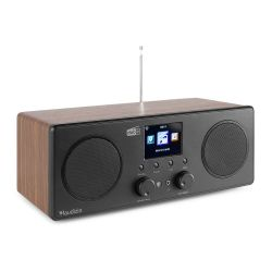 Audizio Bari Wood Ραδιόφωνο Wi-Fi Internet STEREO DAB+ FM με Bluetooth και Ξυπνητήρι
