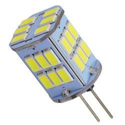 GloboStar® 76135 Λάμπα G4 LED SMD 5630 6W 720lm 320° DC 12-24V Ψυχρό Λευκό 6000K