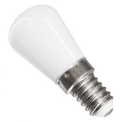 GloboStar® 76059 Λάμπα E14 S6 LED SMD 2835 3W 250lm 320° AC 230V Ψυγείου Θερμό Λευκό 3000K