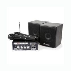 Fenton AV380BT Πλήρες Karaoke πακέτο με ενισχυτή USB,SD,MP3,FM,BT ηχεία και 2 μικρόφωνα