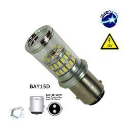 Λαμπτήρας 1157 48 SMD 4014 Can Bus 12v Ψυχρό 6000k GloboStar 05468